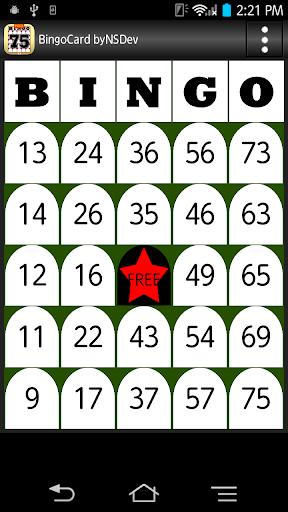 BingoCard byNSDev 1.0.2 Windows u7528 1