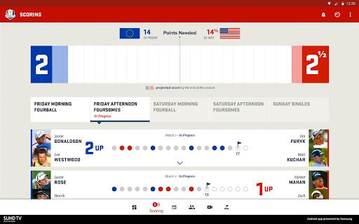 Ryder Cup 2016 Screenshot