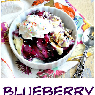 Blueberry Icebox Cake