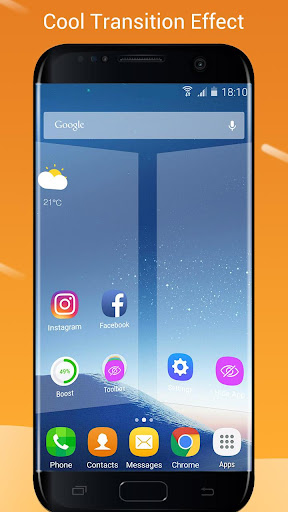 how to uninstall go launcher galaxy s7