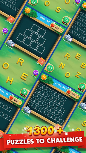 Word Zoo - Word Connect Ruzzle Word Games Free screenshot
