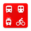 Bus Madrid Metro Cercanías BiciMad icon