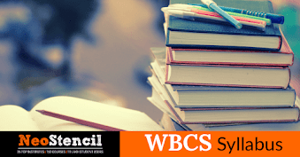 WBCS syllabus for state civil services