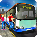 Public Transport City Bus Driving Simulator 2018 icon