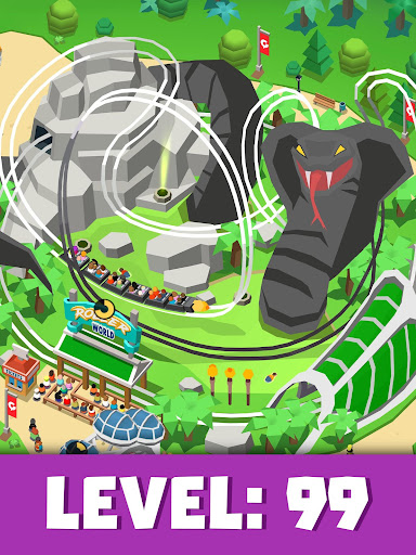 Idle Theme Park Tycoon - Recreation Game apkdebit screenshots 12