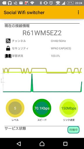 Social Wifi switcher Express