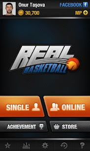 Real Basketball MOD APK  (Unlimited Money) 2