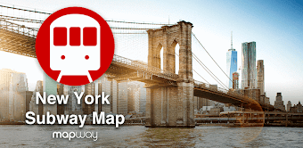 New York Subway MTA Map (NYC)