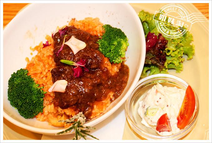 Afternoon Tea統一午茶時光法式紅酒燴雞燉飯1