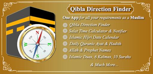 Qibla Direction Finder & Prayer Time Alarm - Apps on Google Play