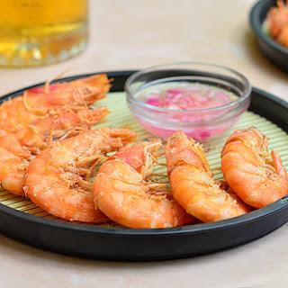 Nilasing na Hipon (Drunken Shrimp)