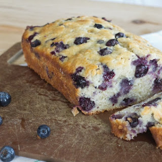 Blueberry Banana Bread.