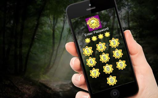 Sun Power - Applock Theme