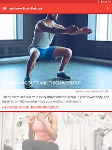 Ultimate Lower Body Workouts screenshot