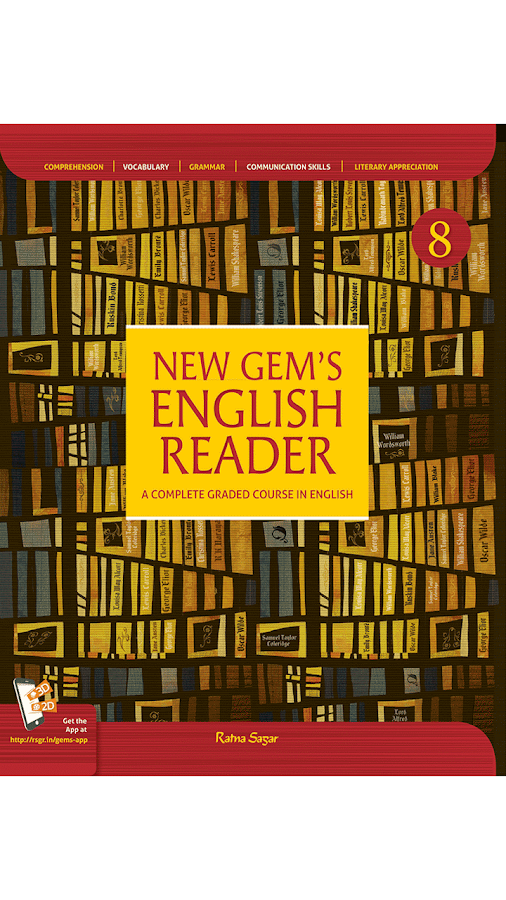 New Gem's English Reader 8- screenshot