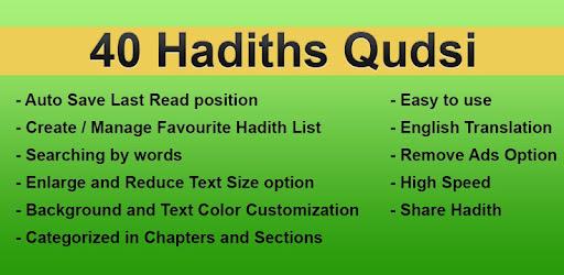 40 Hadith Qudsi - Apps on Google Play