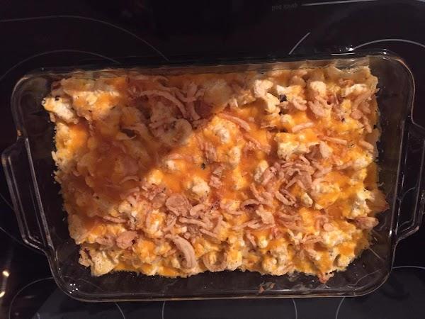 Cheesy Cauliflower Bake Recipe