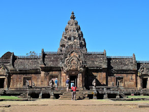 Photo: the Khmer sanctuary on the hill of Phanom Rung