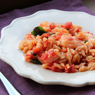 Skillet Shrimp & Orzo Recipe