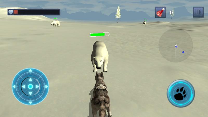 Скриншот Snow Dog Survival Simulator