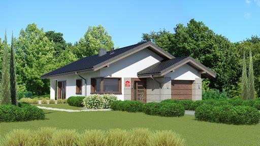 projekt Dom przy Pastelowej 15 D
