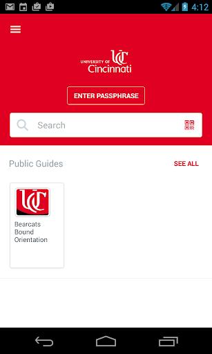 University of Cincinnati App