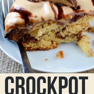 Crockpot Peanut Butter Cup Cake