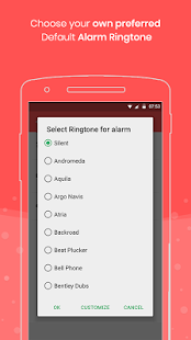 Full Battery Charge Alarm and Theft Security Alert Screenshot