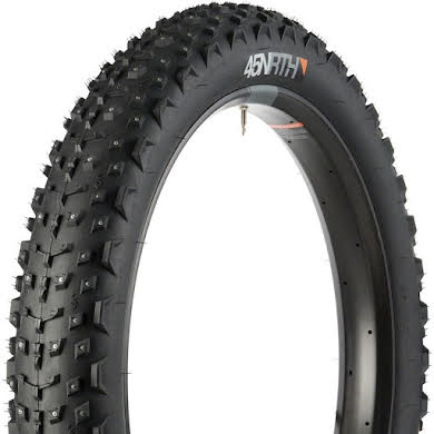 45NRTH Dillinger 4 26x4.0 Studded Fatbike Tire 60tpi Tubeless Ready