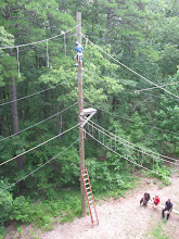 Photo: Top view of the High Ropes course at Camp Toccoa.
