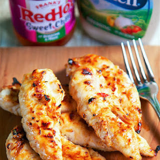 Sweet Chili Ranch Grilled Chicken
