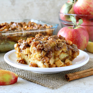 Apple Pie French Toast Casserole