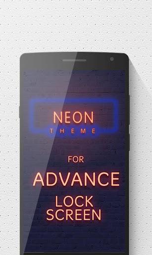 Neon Advance Lock Screen