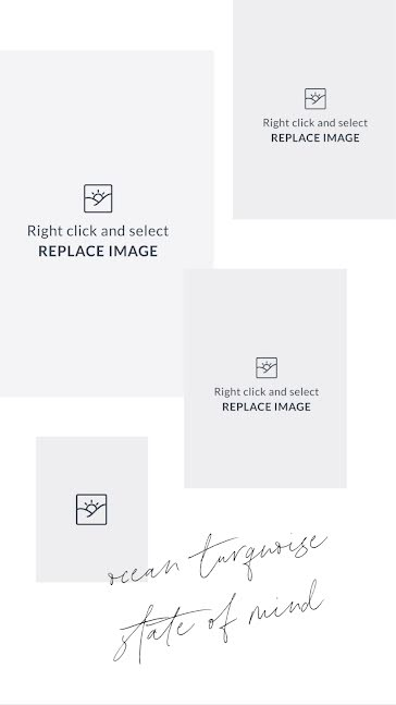 State of Mind Inspiration - Mood Board Template