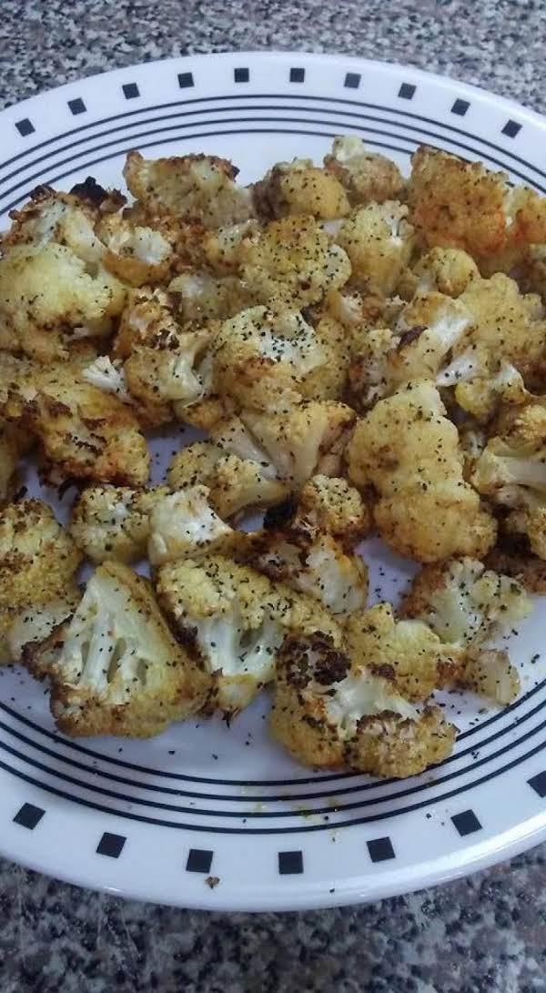 Spicy Parmesan Cauliflower Florets Recipe