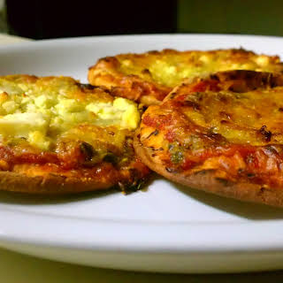 Thin Crust Low Carb Pizza.