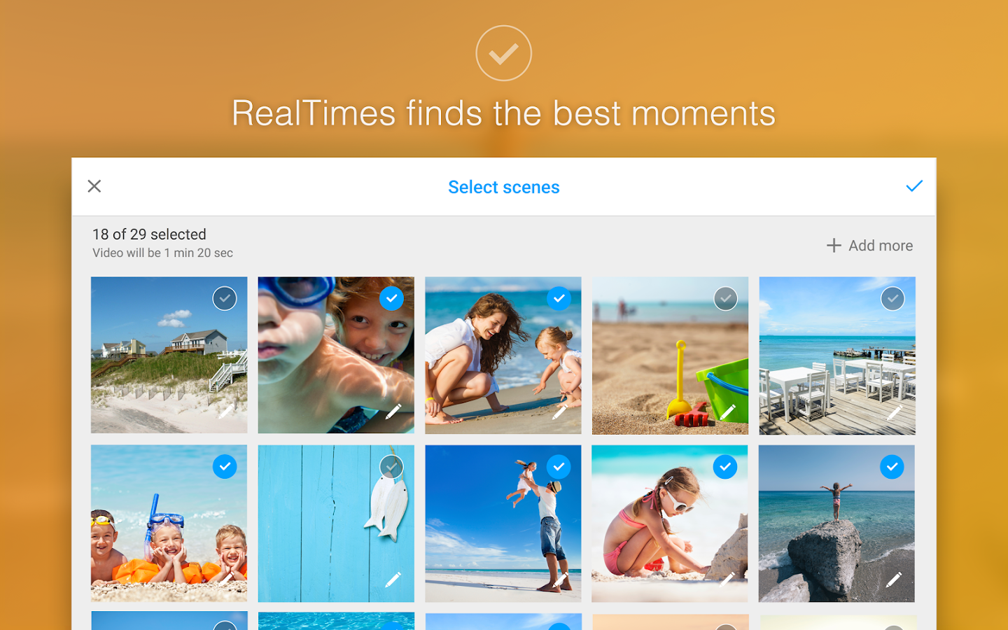 RealTimes Video Collage Maker- screenshot