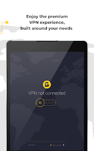 CyberGhost VPN - Fast & Secure WiFi protection Screenshot