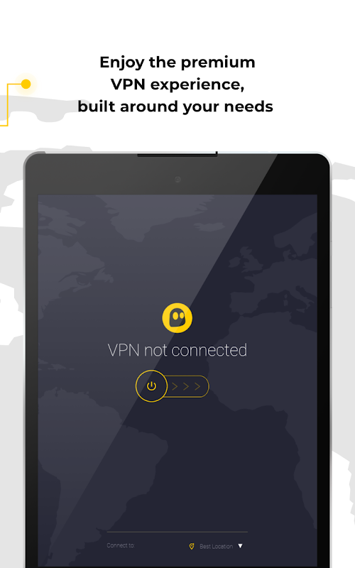 CyberGhost VPN - Fast & Secure WiFi protection screenshots