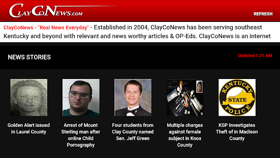 ClayCoNews- screenshot thumbnail