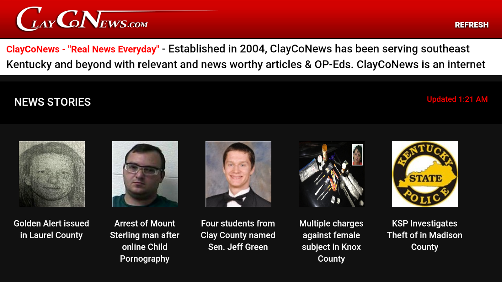 ClayCoNews- screenshot