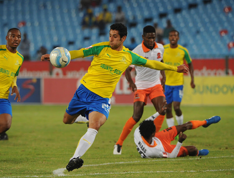 Leonardo Castro of Mamelodi Sundowns during the Absa Premiership match between Mamelodi Sundowns and Polokwane City on the 14 March 2017 at Loftus Versfeld Stadium.