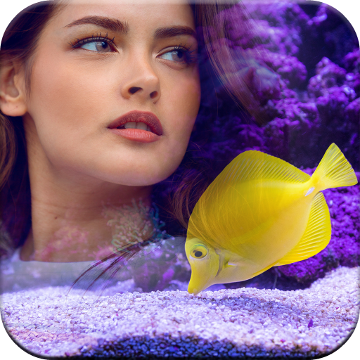 3D Underwater Frames for Pictures Icon