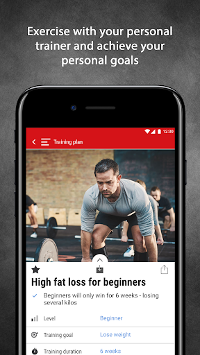 Mens Health Fitness Trainer - Workout & Training screenshot 1