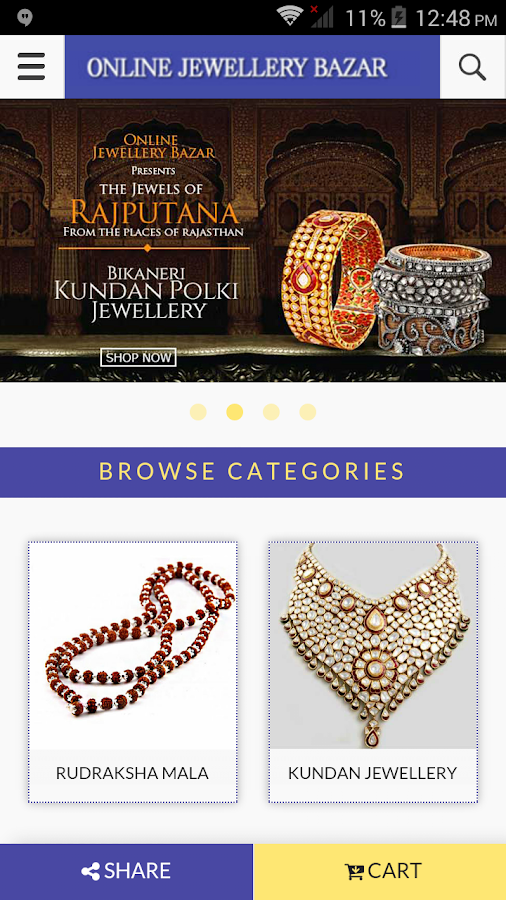 Online Jewellery Bazar- screenshot