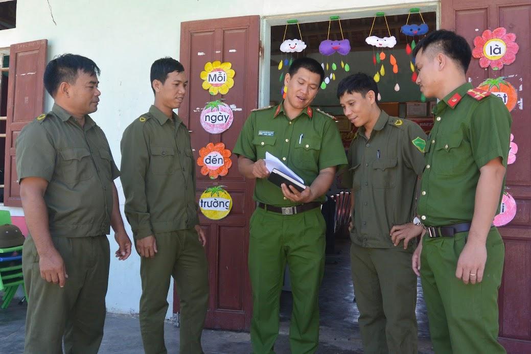 Công an xã Quỳnh Lập triển khai công tác đảm bảo ANTT tại địa phương