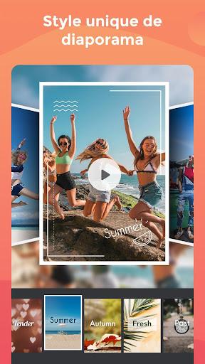 Créateur de vidéos, recadrage, musique, effets screenshot 7
