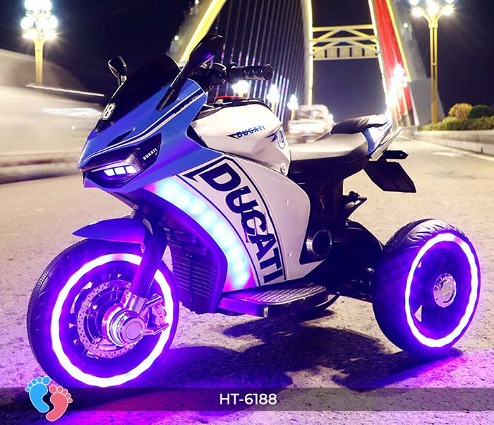 Xe mô tô điện thể thao Ducati HT-6188 7