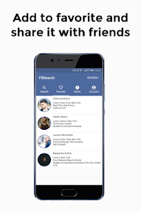 FBSearch - profile viewer - náhled