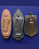 4.กล่องชุดพระ 25 พุทธศตวรรษ 3 องค์ ดิน-ชิน-เหรียญ พ.ศ. 2500